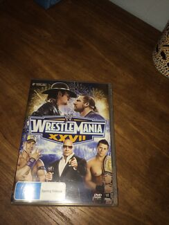 WWE Wrestlemania XXVII 2 Disc Set Woodroffe Palmerston Area Preview