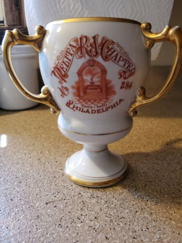 Antique Melita Royal Arch Chapter N0. 284 Masonic Cup