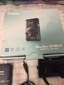 Canon Poweshot Sd780 Is digital camera