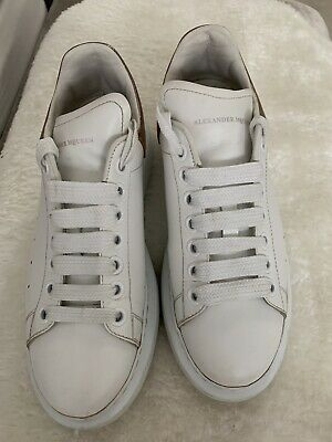 genuine alexander mcqueen trainers Size 6.5