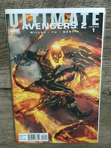 Ultimate Avengers 2 #1 Ghost Rider Variant Crain Marvel