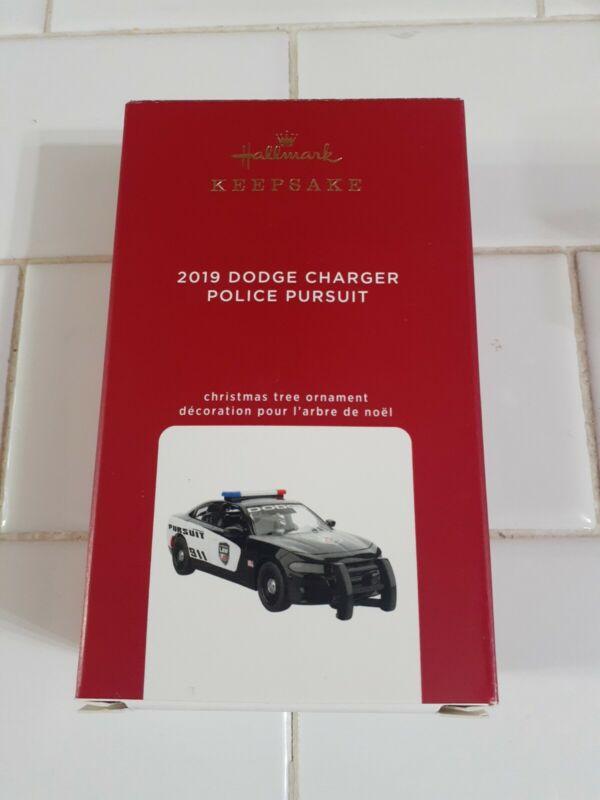 Hallmark Keepsake - 2019 Dodge Charger - Police Pursuit **NEW / FREE SHIP**
