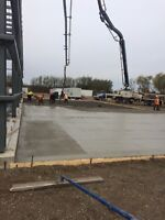 Large concrete floor contractor