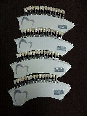 Heraeus Kulzer-prosthetics Color Key Prosthetic Shade Guide A-d Id312 Dental