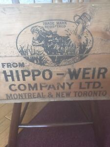 Fabulous Hippo-Weir Crate