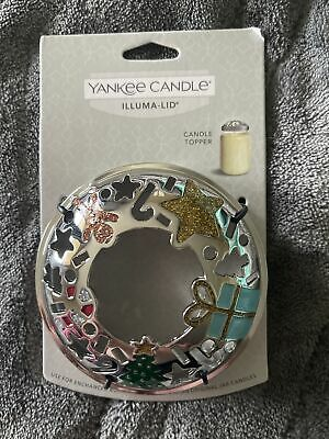 Yankee Candle 2020 MODERN ART DECO Illuma-Lid Holiday Christmas Brand New