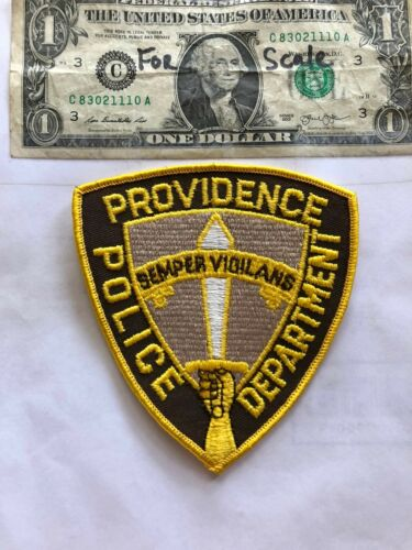 Providence Rhode Island Police Patch in great shape