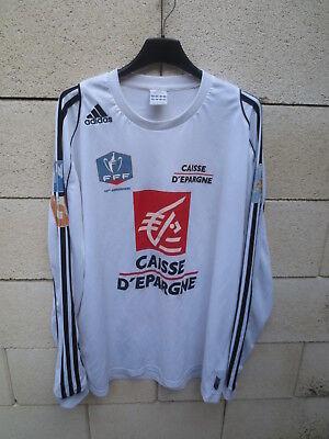 Maillot SCO ANGERS COUPE de FRANCE 2008 porté n°2 shirt ADIDAS manches longues image