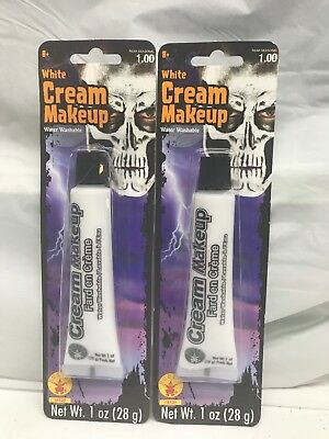 White Cream Makeup Rubies 18120 Water Washable 2 Pack Halloween Skull Clown](White Cream Makeup Halloween)