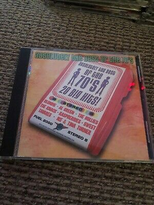 Absolutely Best of the 70's 20 Big Hits Fuel 2000 Various Artists 2001 CD