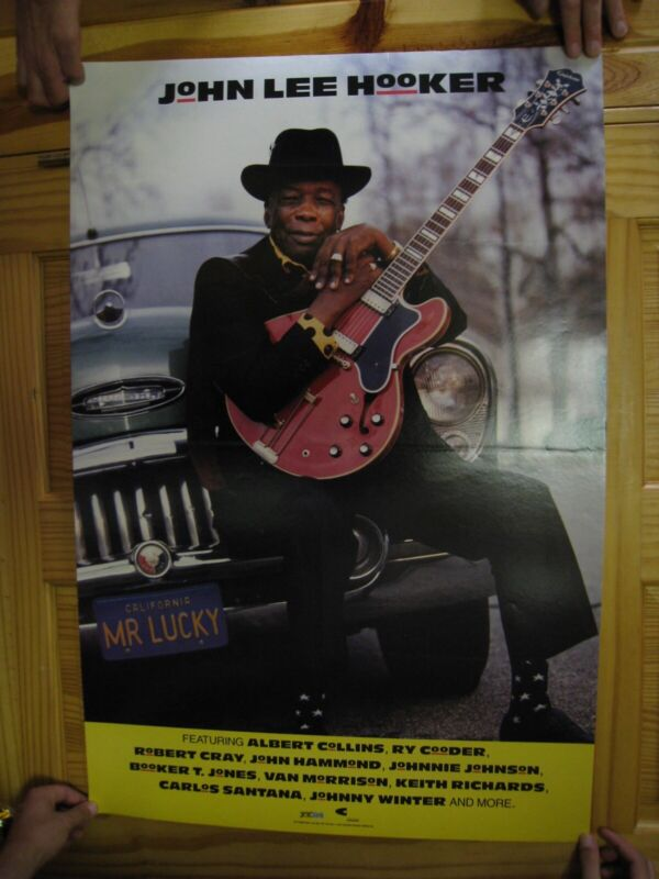 John Lee Hooker Poster Self Portrait