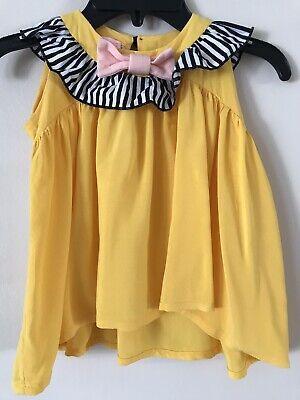 Bang Bang Copenhagen Girl's Yellow Tunic 1-2 years