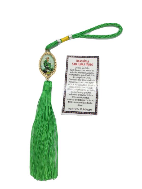 San Judas Tadeo Blessing Suerte religion Yoruba Saint Jude Car Hanging Ornament
