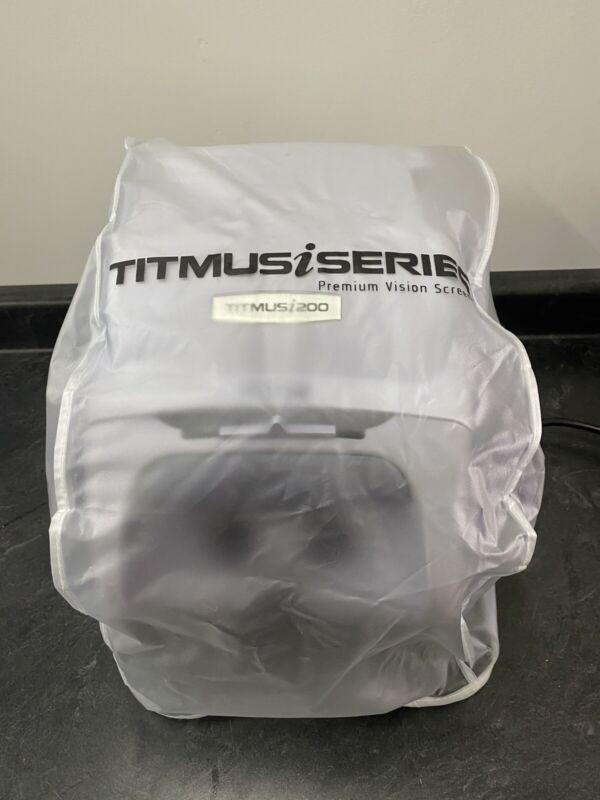 Titmus i200 Optical Vision Screener / Eye Field Tester Visual w Power Cord&cover