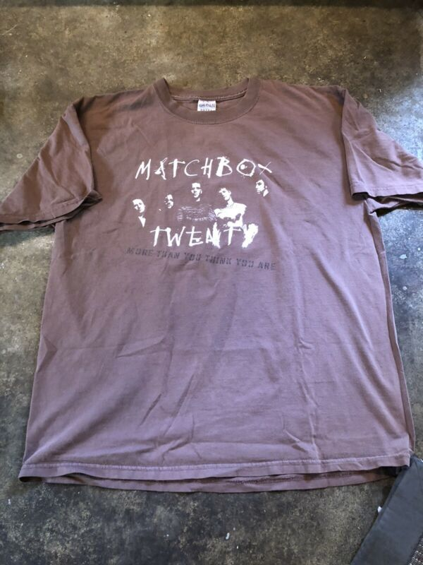Matchbox Twenty Tour 2003 T Shirt