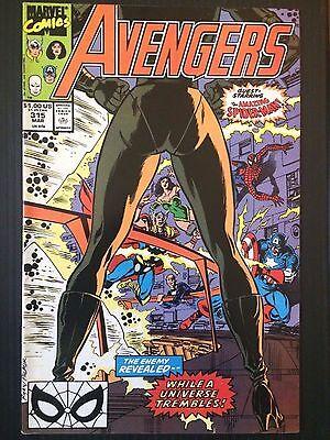 Avengers (1963 1st Series) #315 (Amazing Spider-Man Nebula Eternal) VF
