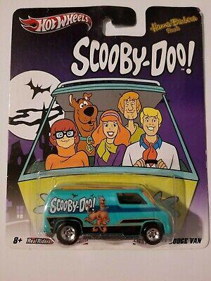 Hot Wheels Custom '77 Dodge Van Scooby Doo 2012 Nostalgic Brands New