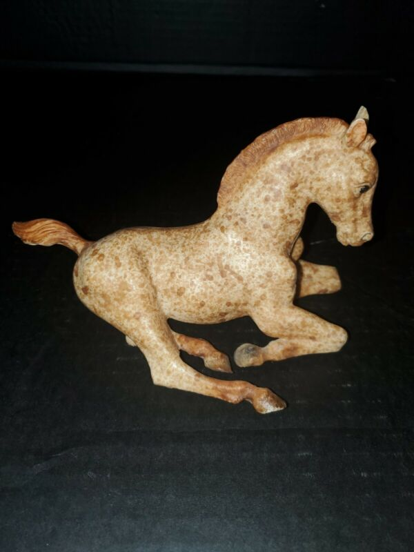 Breyer Horse Baby Foal Light Brown & Cream Spotted Laying Down Pony 70s