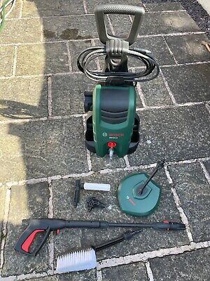 Bosch AQT 37-13 Pressure Washer with Brush and Patio Cleaner