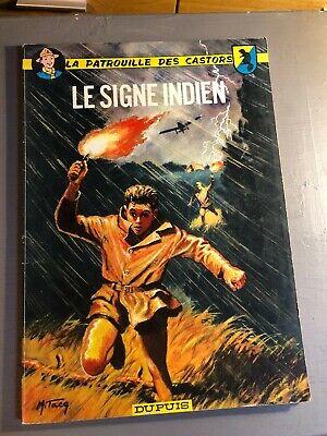 [9268 - BD1] Le signe indien - La patrouille des castors - Dupuis 1966