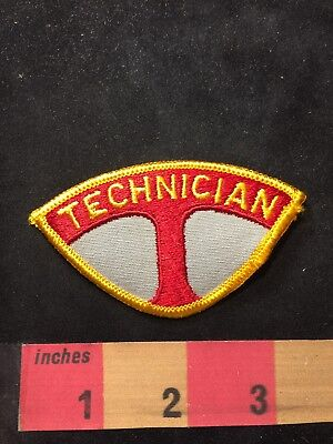 Vtg T TECHNICIAN Patch 89XB