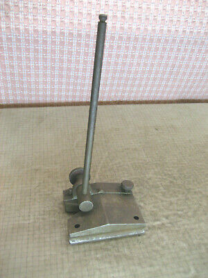 Vintage Hardened Surface Gage 3x3-916 Base Marked Clover Leaf Old Tool 975x