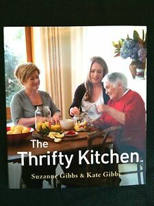 SUZANNE & KATE GIBBS (MARGARET FULTON) THE THRIFTY KITCHEN COOKBOOK ~ BRAND NEW