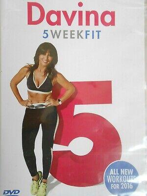 Davina - 5 WEEK FIT DVD - NEW AND SEALED (Davina McCall)