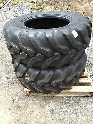 2 New Camsosolideal Backhoe Tires Sla R4 - 17.5lx24 - 17.5l-24-17.5x24-17.5-24