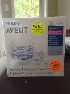 Avent microwave bottle sterilizer Taperoo Port Adelaide Area Preview