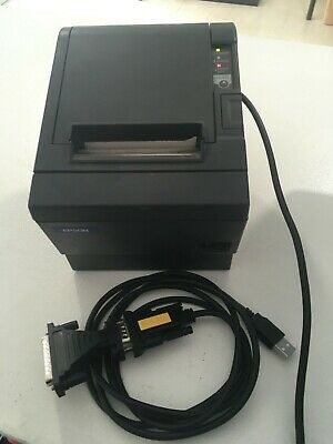 Impresora tickets Epson M129C TM-T88III + Cables & Adaptador USB