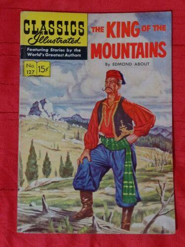 Classics Illustrated #127 [HRN 128], (7/55) Original — Very Good-