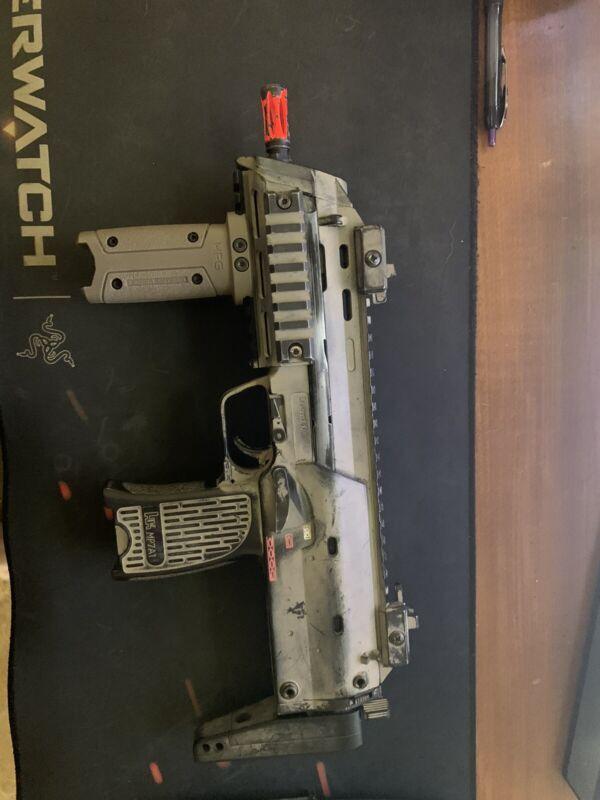 KWA MP7/ 4 Mags and Mock Suppressor