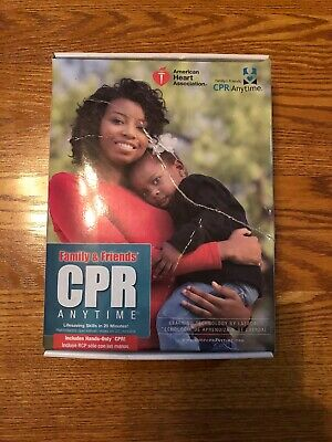 Cpr Anytime Training Kit With African American Mini Anne Mannequin