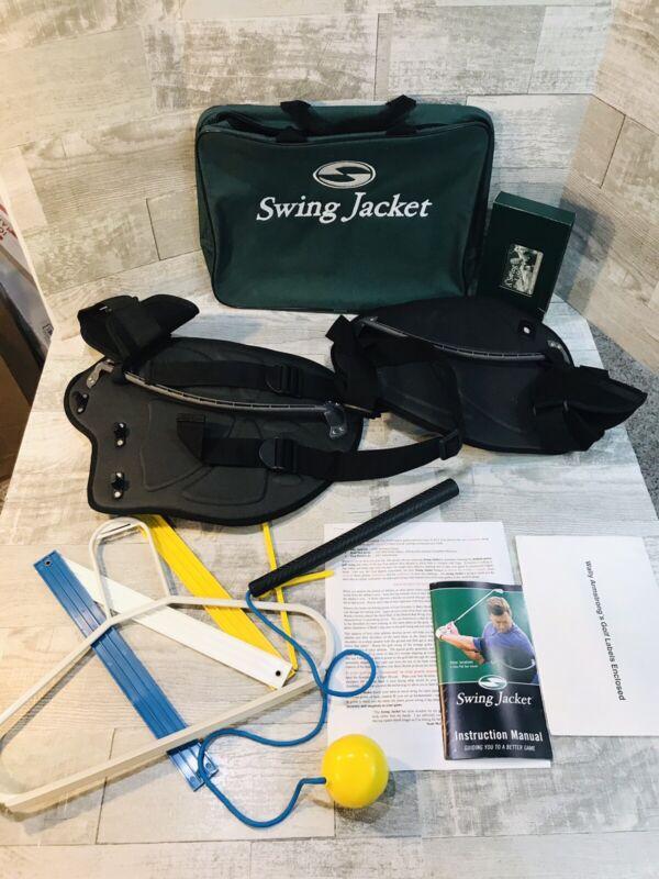 "Swing Jacket Golf Trainer Peter Jacobsen Regular 35-50"" Chest Training Aid"