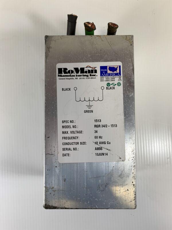 RoMan RGR Welding Grounding Reactor 34/2-1513