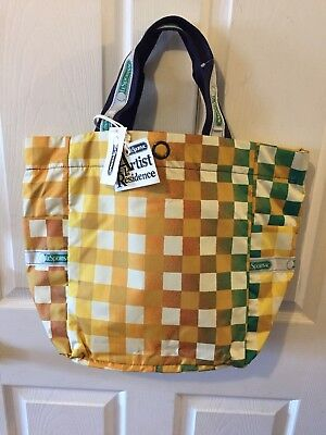 LeSportsac Artist in Residence Tote bag Purse shopper yellow green gold  Multi ()