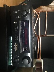 Denon A/V receiver with 5.1 channels