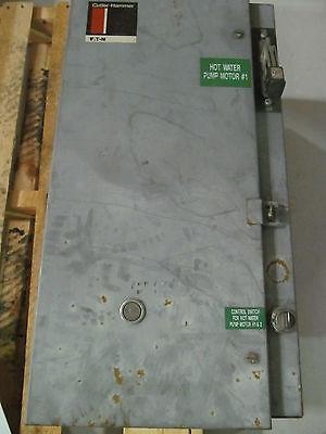 Cutler Hammer Nema Size 3 Combination Starter Wc10en3 With 480 V Coil W100 Amp