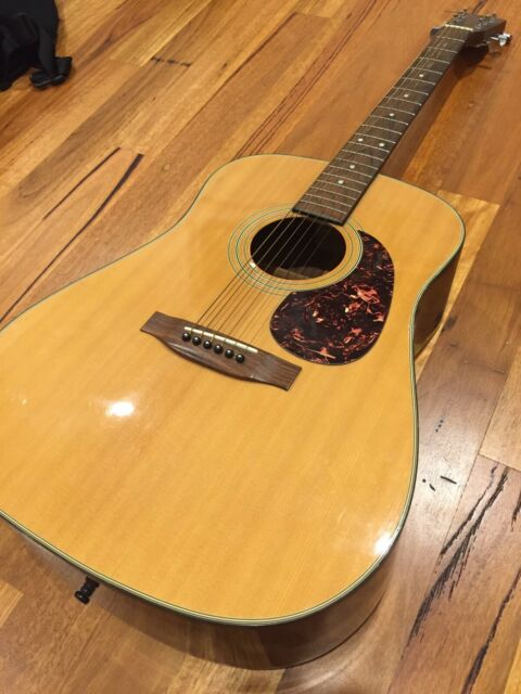 Martin Sigma Dm2 Acoustic Guitar Made In Korea Guitars Amps