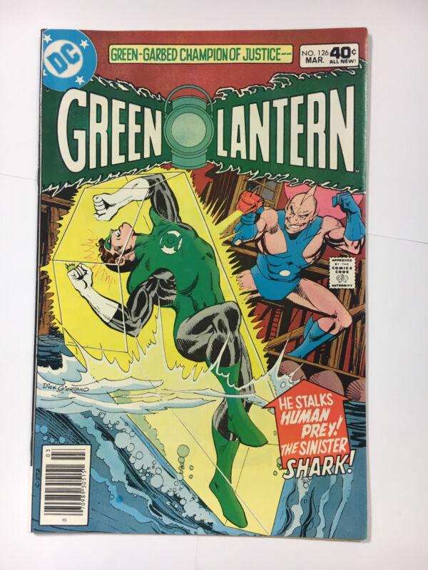 Green Lantern #126 F+  DC comic 1980