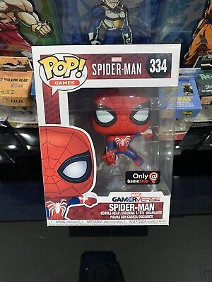 Funko Pop !! Spiderman Gamestop Exclusive Gamerverse #334