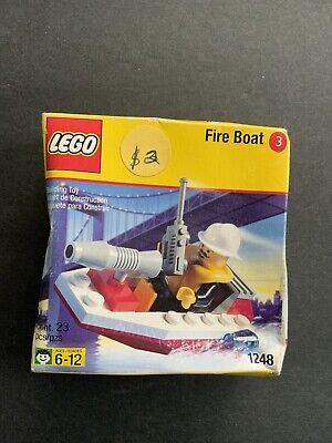 Lego Set 1248 Fire Boat Shell Firemen Mini figure Set 3 Brand New Unopened