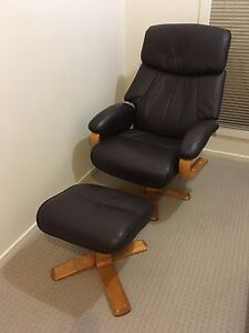 Single Sofa / Lounge Chair with Foot Stool Merrimac Gold Coast City Preview