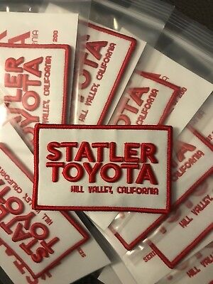 Statler Toyota Logo Patch Limited Edition  1 of 200 Moral Patch Hook Back
