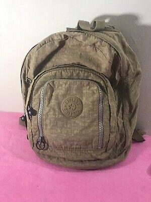 Kipling Backpack Color Brown.                                                 P