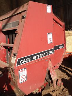 Case 8420 Round Baler Manual