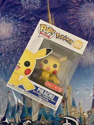 Games Pokemon Pikachu Target Exclusive #353 Pop Vinyl Figure Funko