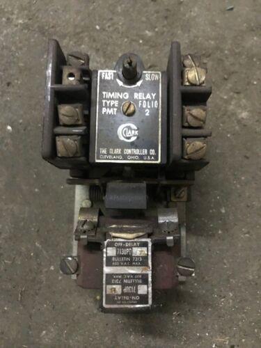 Joslyn Clark Controls 713UPD Bulletin 7313 600VAC PMT Timing Relay
