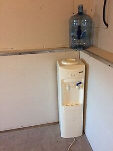 Water cooler and bottle